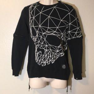 NEW MLGB Brand Long sleeve Sweater Sz XS